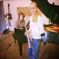 Melissa Venema weer terug in de studio