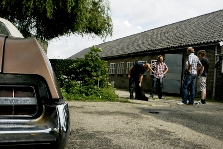 recording studio peggy51 is landelijk gelegen maar op nog geen 12 kilometer van Amsterdam