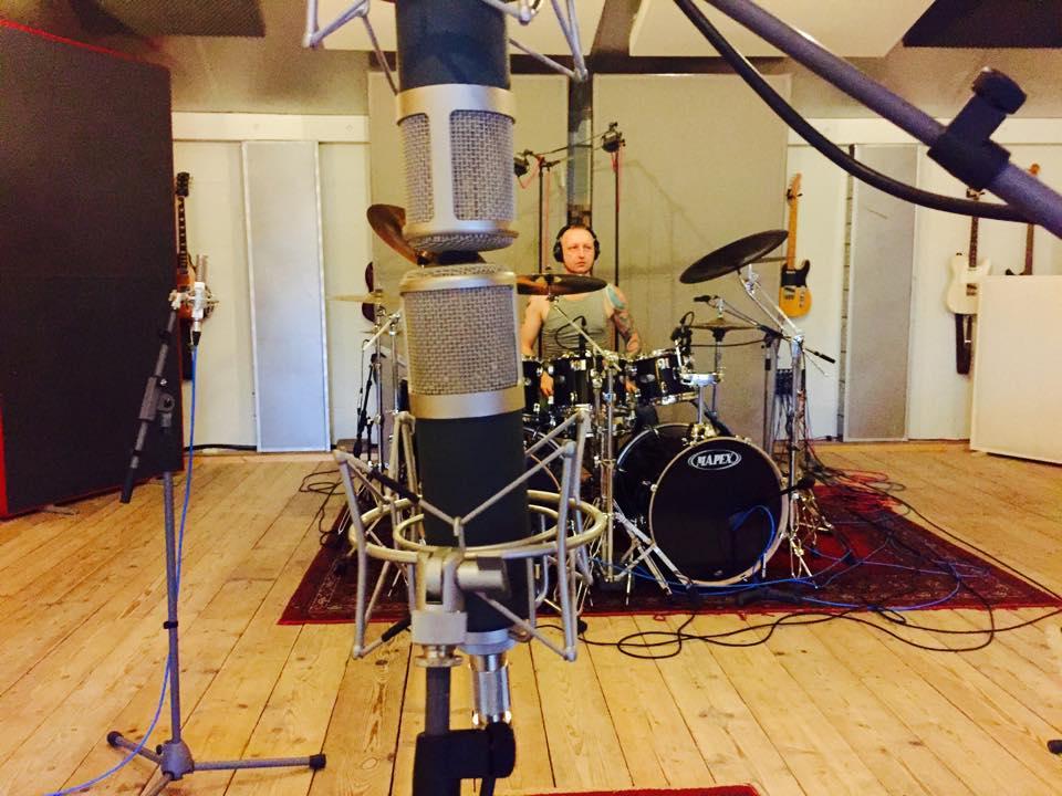 Drum recording at Studio peggy51