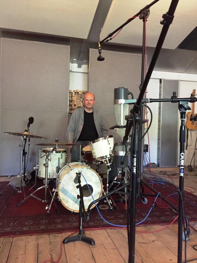 Jazz album recording Kiers quartet