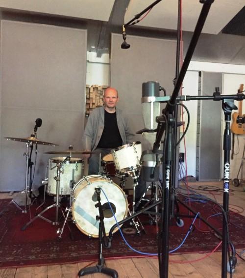 recordin jazz kit Maarten Kruijswijk
