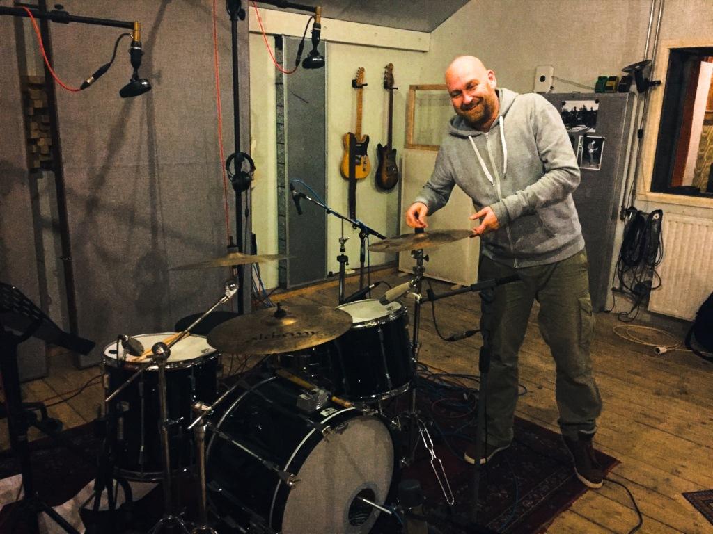 Drum recording for Boudoir album