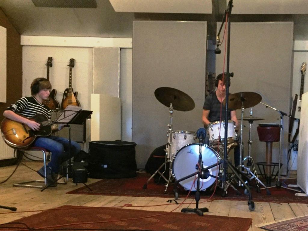 Gitaar en drums