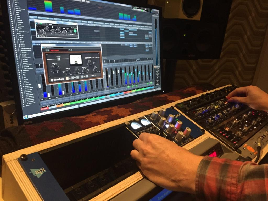 mixing songs
