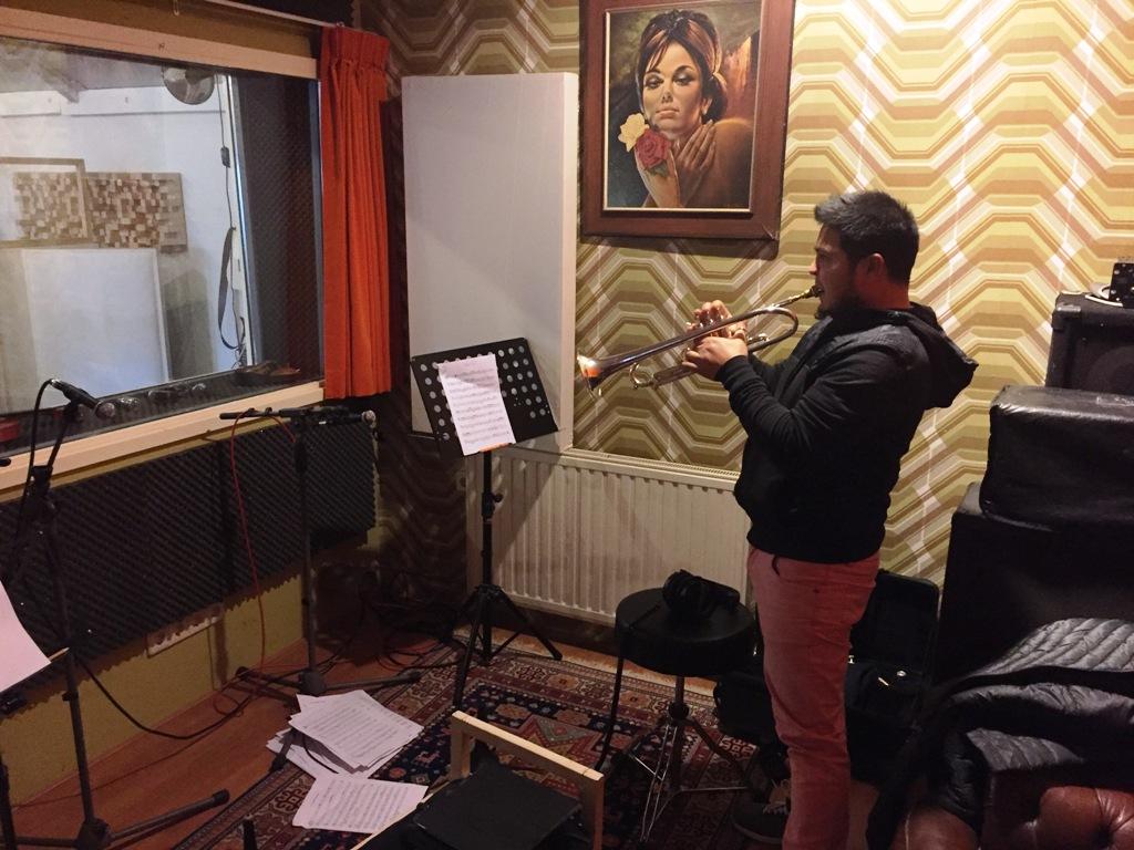Album opname Pedro Luis - trumpets