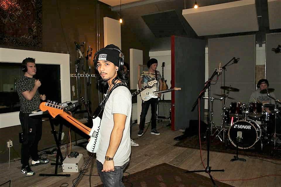 Born a Tribe demo recording