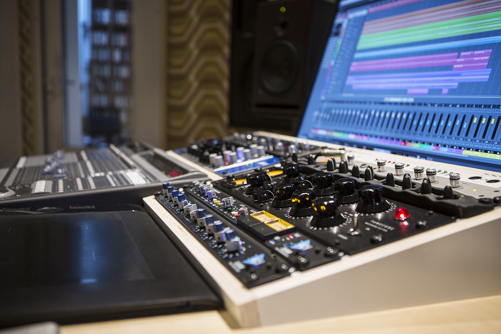 Some of our analog gear at Studio peggy51