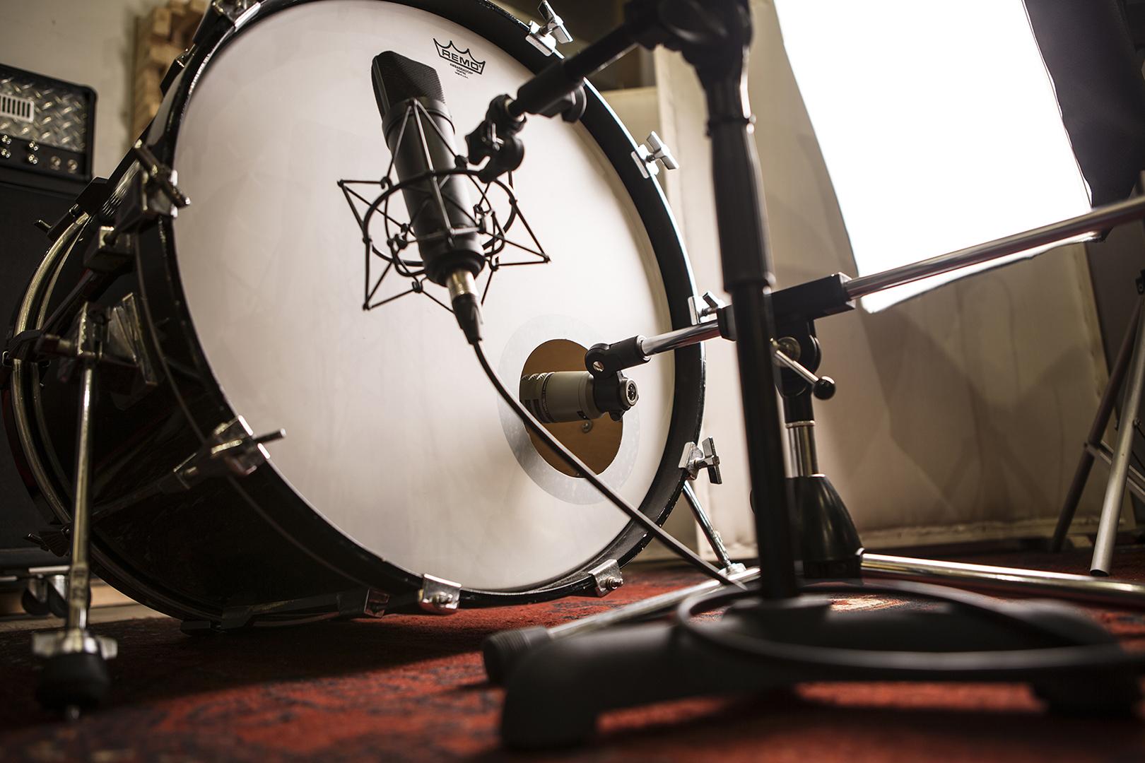 Opnemen van drums