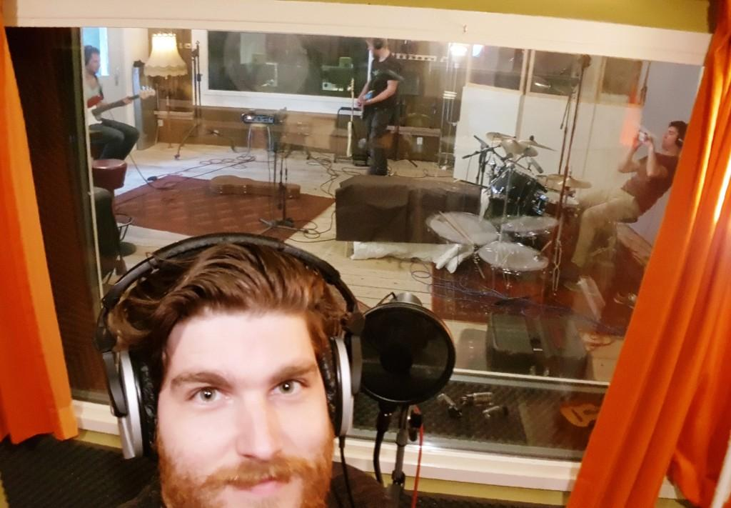 recording with General Redbeard