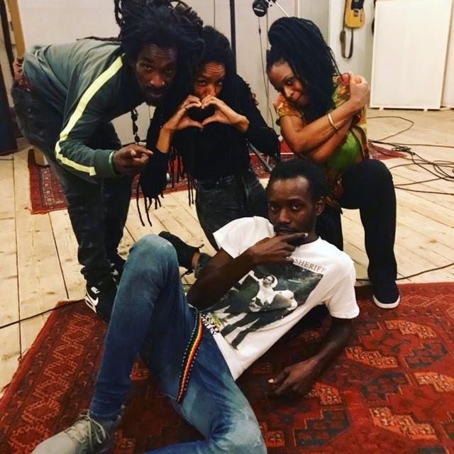 Anthony B bij Studio peggy51