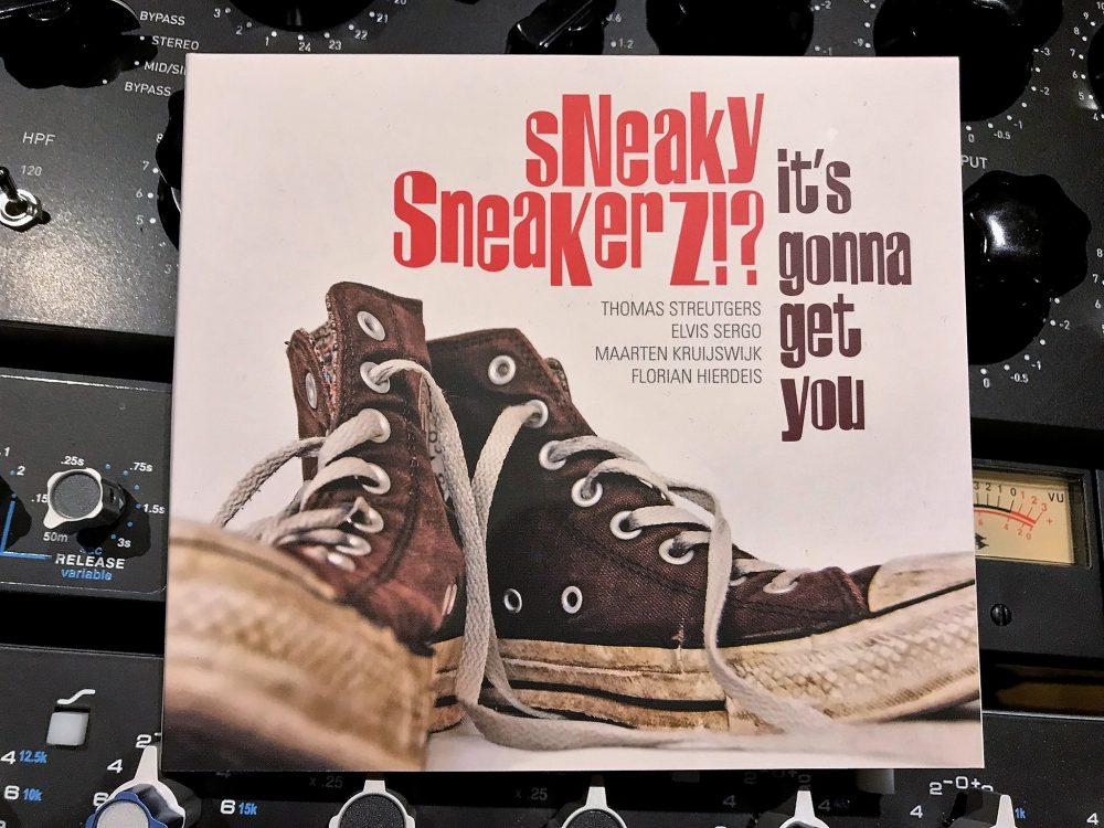 Recording Sneaky Sneakerz!? album