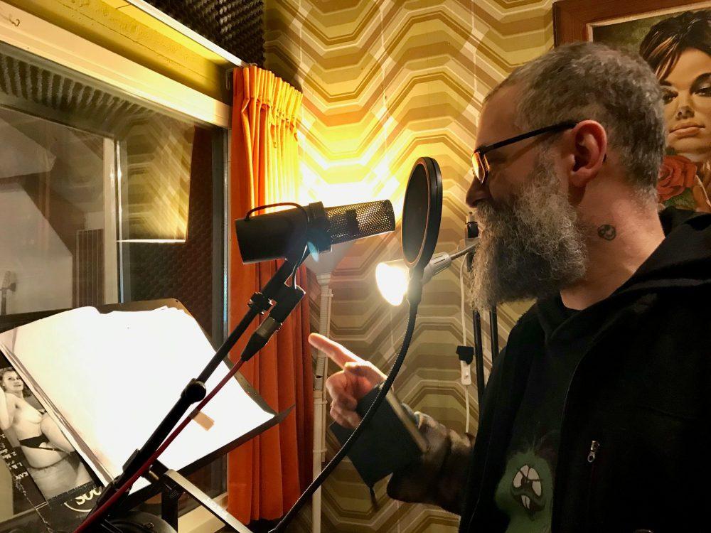 Vocal recording Joshua at Studio peggy51