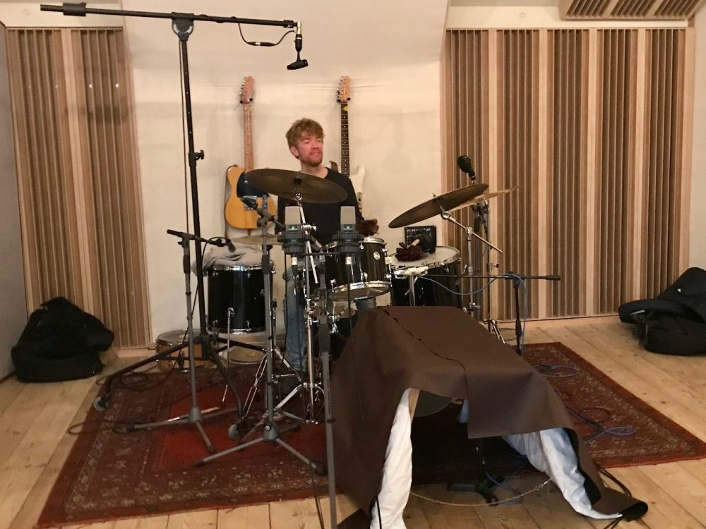 band recording at Studio peggy51